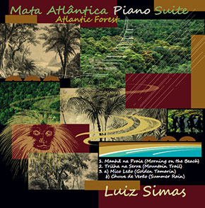 Mata Atlântica Piano Suite CD cover.