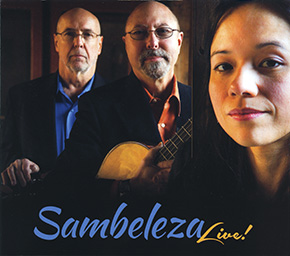 Sambeleza Live! CD cover.